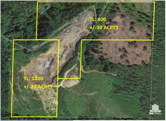 OPERATING BASALT QUARRY – LITTLE NESTUCCA RIVER RD. NESKOWIN, OR